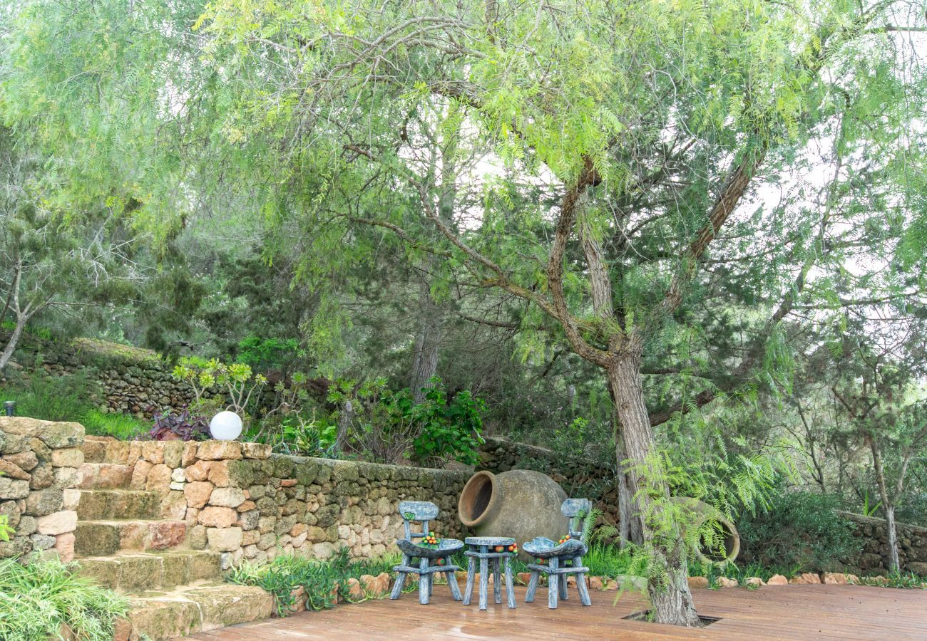 Gîte Rural à San Agustín / Sant Agustí d´ es Vedrà - CAN WOD