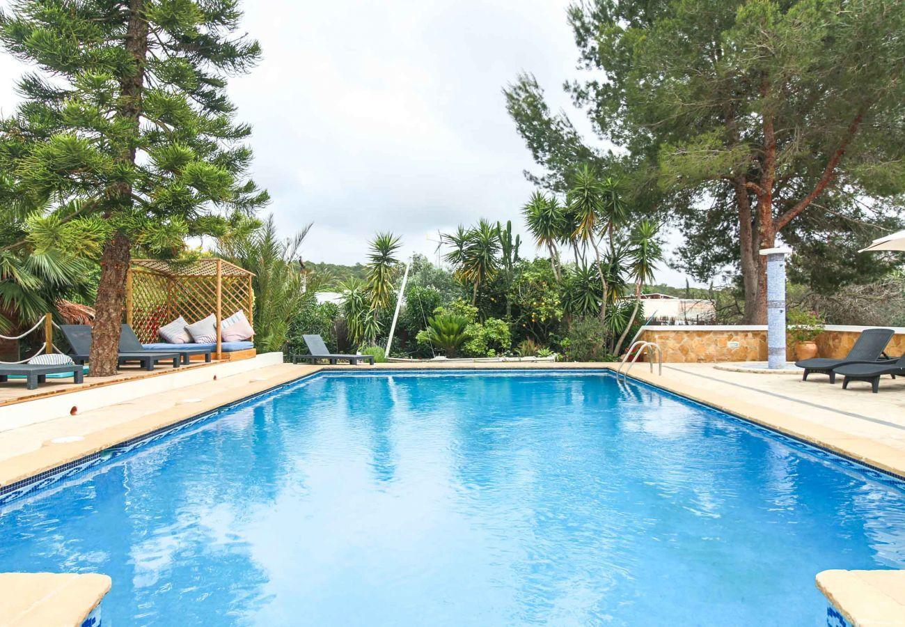 Piscine de la Villa Casa Estrella Ibiza