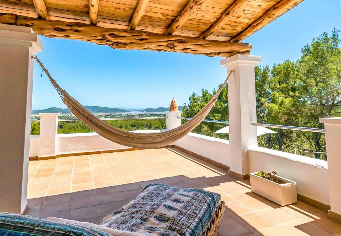 Villa de vacances dans le centre d'ibiza.